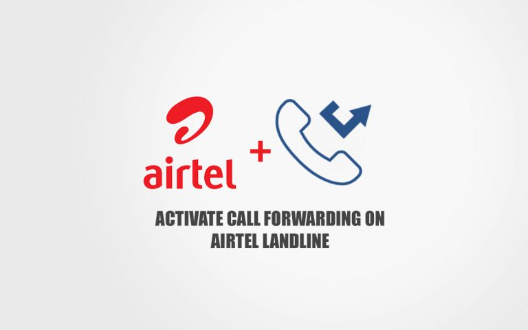 airtel landline call forwarding